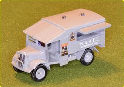 NAAFI Beverage Van, modified from Airfix Ambulance 1:76