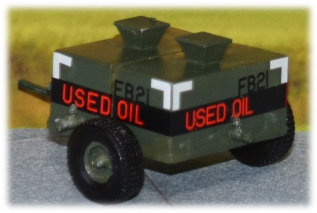 Used oil bowser; 1:35