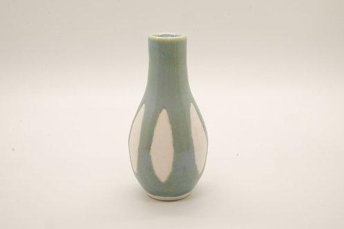 Small Green Segment Vase