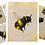 Thumbnail: Bumble Bee Watercolour & Metallic Ink Workshop