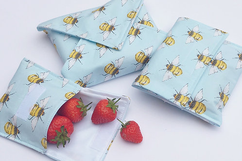 Sew Your Own Reusable Wrap & Snack Bag - Celebrating Autumn