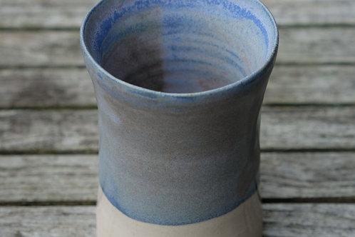 Blue-Grey Small Stoneware Vase