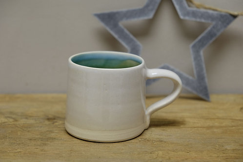 Stoneware 'Morning Brew' Cup