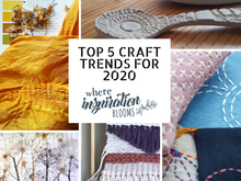 The 5 Biggest Craft Trends for 2020