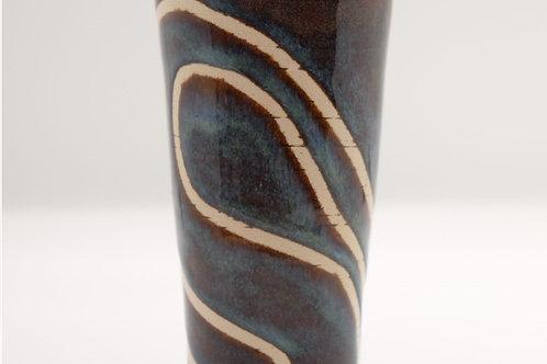 Swirly Lines Vase