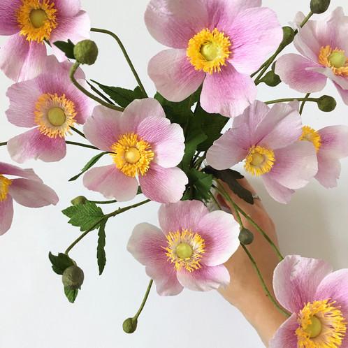 Paper flower making masterclass mightylinksfo