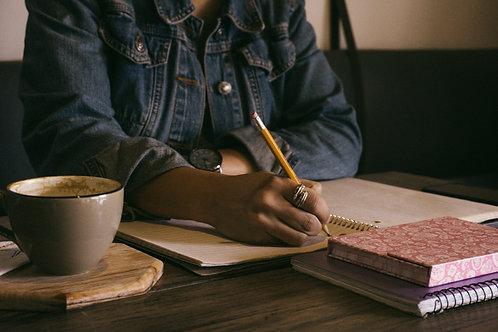 Mindful & Conscious Journaling 3 Week Course - Celebrating Autumn