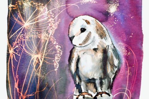 Midnight Owl Ink and Bleach Workshop - Celebrating Autumn
