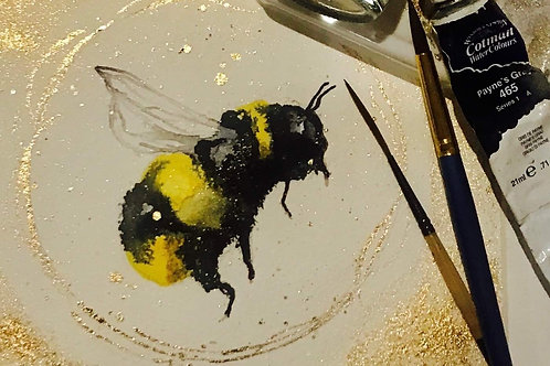 Family Bumble Bee Watercolour Workshop