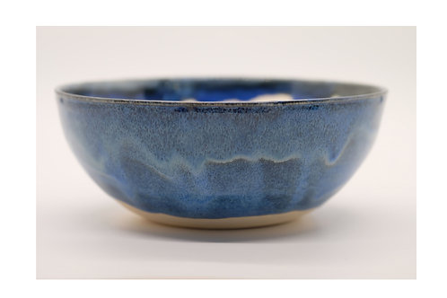 Blue Waves Cereal Bowl