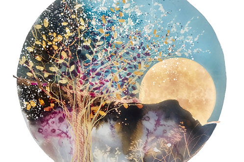 Midsummer Magic Watercolour & Metallic Inks Workshop