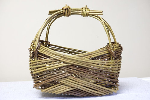 Double Tie Handle Zarzo Basket