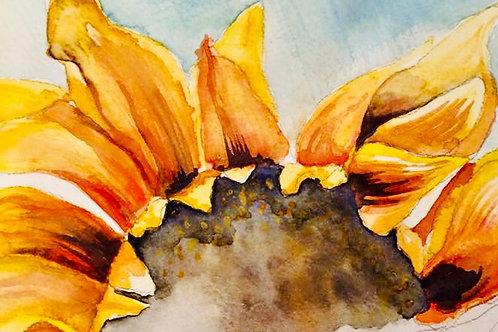 Sunflower Watercolour Workshop - Celebrating Autumn