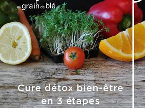 Les cures détox : une cure bien-être en 3 étapes