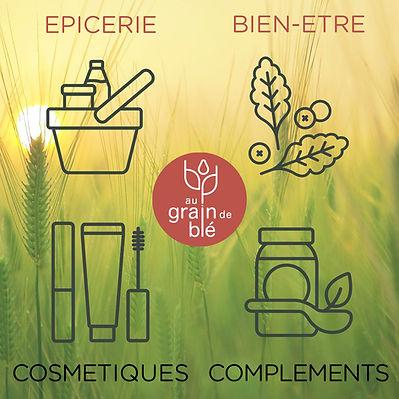Boutique Nature et Conseils Au Grain de Blé - Saint Etienne 42
