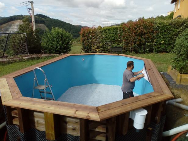 Pose et installation de piscines hors sol CNTP 69