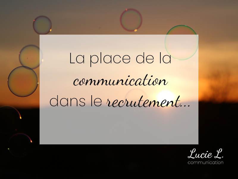 Communication et Recrutement - LucieL Communication