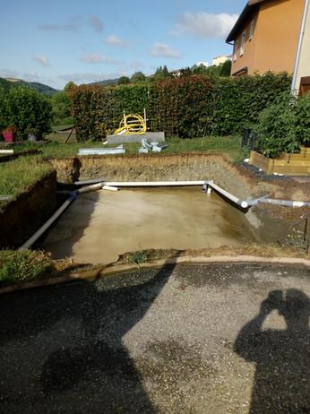 réalisation de piscine et abords CNTP 69