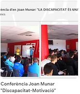 3 conferencia Joan Monar discap i motiva