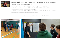 2 Classes 4 001 practicas Boccia TC1 TE1