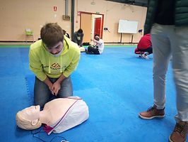 practica 1os auxilios Reanimacion Cardio
