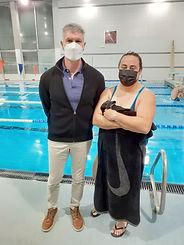 Luis y Laura Coach-Atleta Profesor-Stude