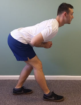 Hamstring Stretch deep tissue, sport and remedial massage therapy Bristol