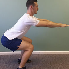 Squats deep tissue, sport and remedial massage therapy Bristol