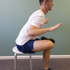 Glute Stretch deep tissue, sport and remedial massage therapy Bristol