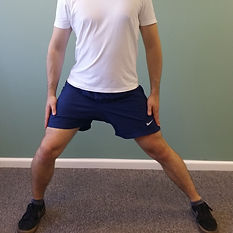 Adductor Stretch deep tissue, sport and remedial massage therapy Bristol