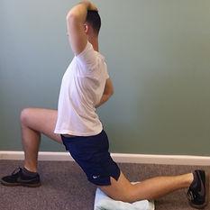 Hip Flexor Stretc deep tissue, sport and remedial massage therapy Bristol