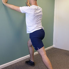 Calf Stretch deep tissue, sport and remedial massage therapy Bristol