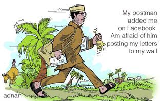 Adnan Safee and the Postman