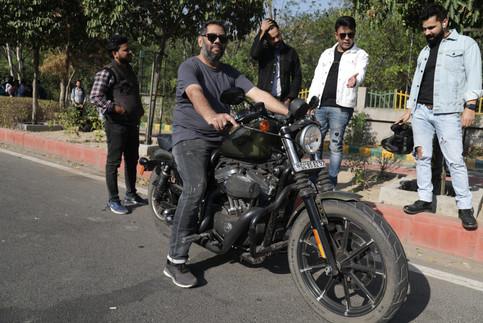 Adnan Safee, Harley Davidson