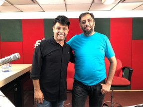 Adnan Safee producer at Nine Angle Production with RJ Naved, Radio Mirchi
