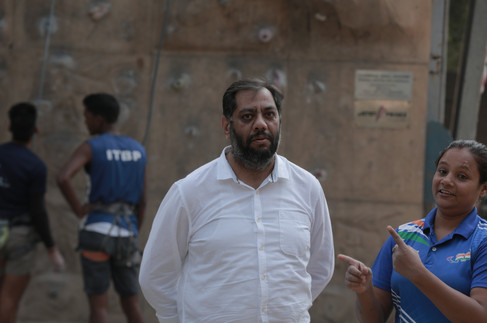 Adnan Safee with Arunima Sinha