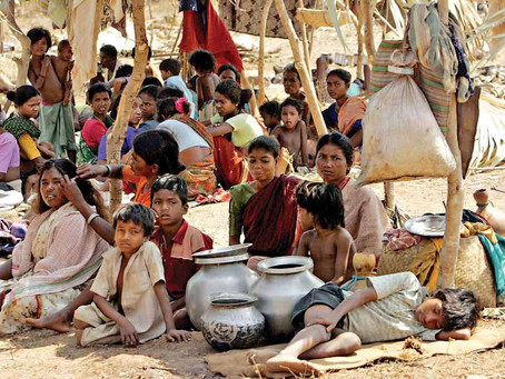 Poverty, the cause of hunger in India