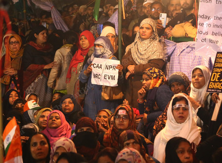 Mother returns to Shaheen Bagh protest days after four-month-old dies from the cold