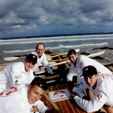 Australia Junior Surf Boat Finalist 1998