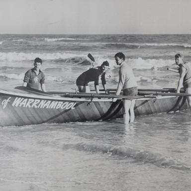 1959 Open Boat Crew