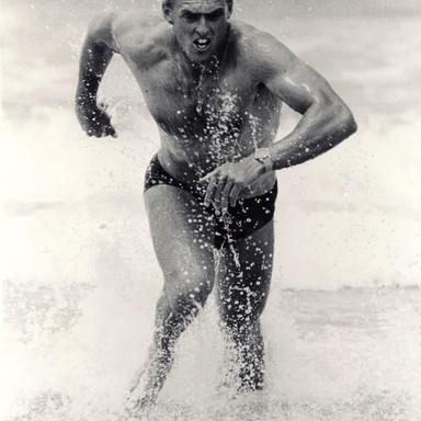 Michael Owen Representing Victoria In Trans Tasmanian Challenge New Zealand 1990