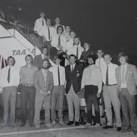 Touring Team To Scarborough Beach WA 1971