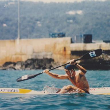 Phil Kerr 1988 Interstate Challenge In Bernie Tasmania