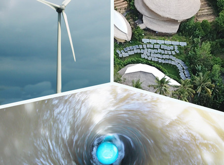 Hydroelectric turbines can be combined with other energy sources for 99% uptime