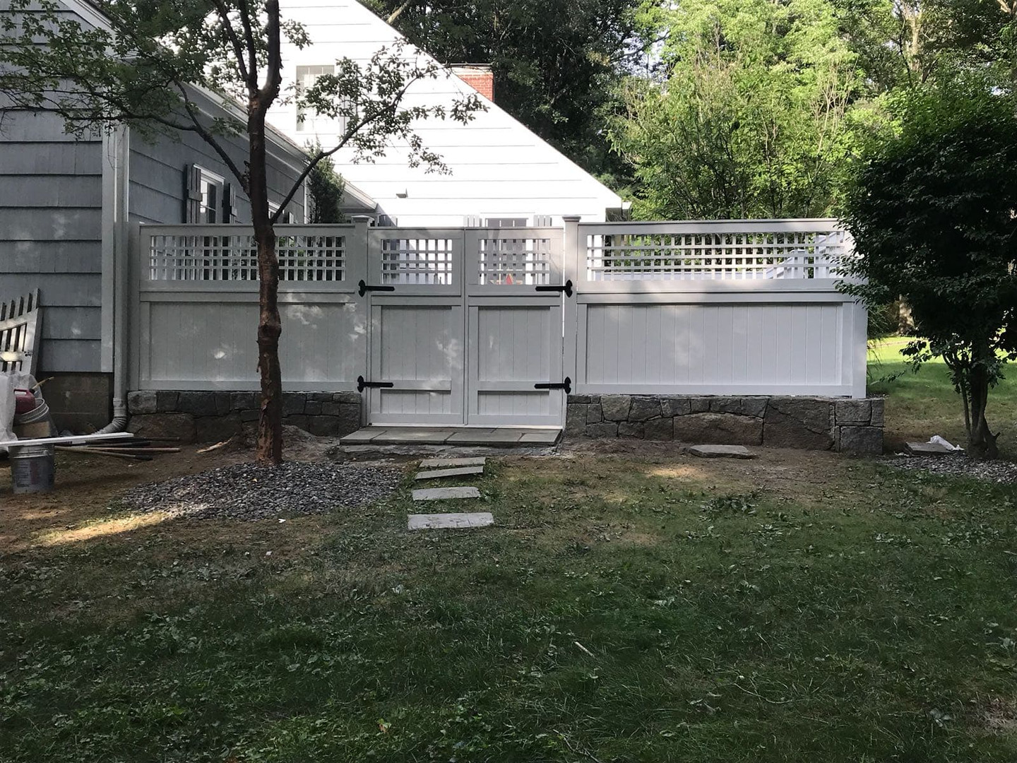 CUSTOM MADE FENCE