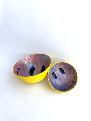Marbled Smiley Bowl