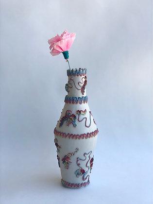 Fancy Frosting Vase