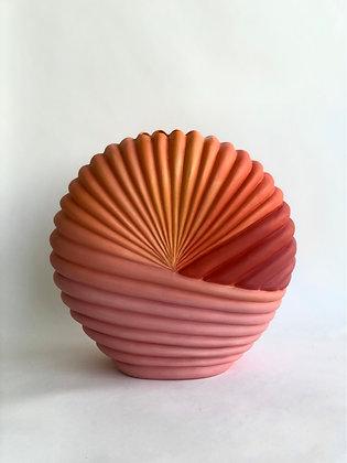 Sunset Seashell Vase