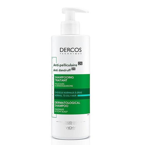Vichy Dercos Anti-Dandruff Yağlı Saçlar İçin Kepeğe Karşı Etkili Şampuan 390Ml