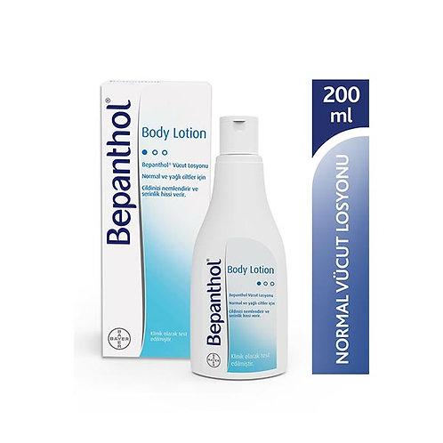 Bepanthol Body Lotion Nemlendirici Vücut Losyonu 200 ml - Normal & Yağlı Ciltler